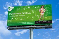 "Campagna marketing per fashion store ""Come una Favola"": outdoor advertising. #outdoor #adv #brandstrategy #brandmarketing #GRAFFIOBrand"