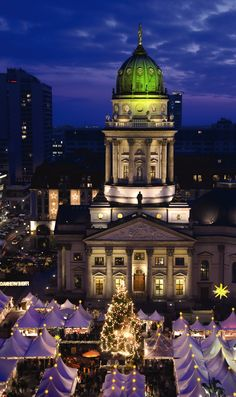 Berlin at Christmastime