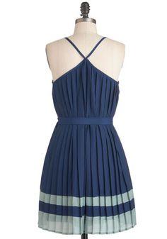 Fashionable Fan Dress, #ModCloth