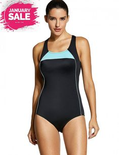9bd594df87cc0 SYROKAN Women's One Piece X-Back Flattering Plus Size Sport Swimsuit  #fashion #clothing