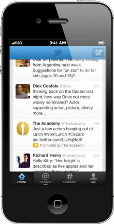 Promoted Tweets to mobile devices..