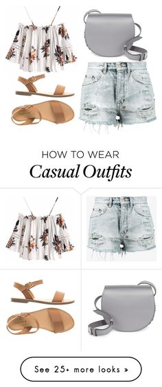 """""""Untitled #4372"""" by evalentina92 on Polyvore featuring Ksubi and Givenchy"""