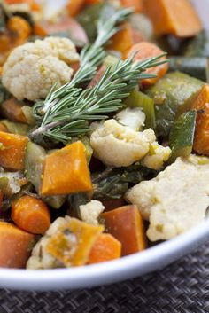 East-West Baked Vegetables - Kimberly Snyder