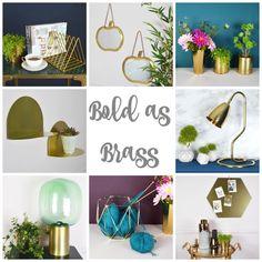 Brass Interior Accessories from Mia Fleur