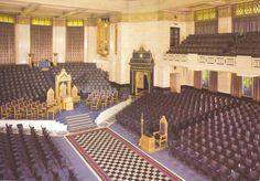 Masoneria, interior da uma loja masonica...!!! #Masoneria