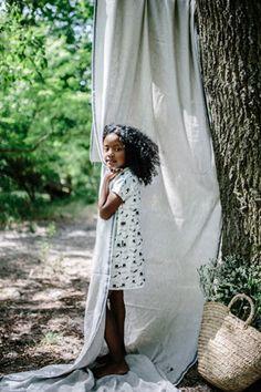 Monkind Kinderkleid Birdies aus 100% GOTS zertifizierter Bio Baumwolle. Erhältlich bei Hasel und Gretel. Kleidung für Mädchen Stark, Kimono Top, Cover Up, Beach, Summer, Kids, Collection, Dresses, Women