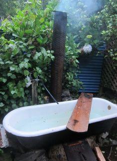 simple outdoor tub