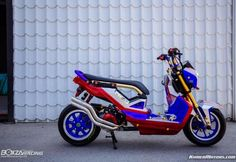 Honda Zoomer-X Transformers Concept By Jack Shop
