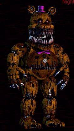 Omg I just peed. # Fredbear scare! :((