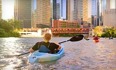 Groupon - Two-Hour Single- or Double-Kayak Rental from Wateriders (51% Off). Groupon deal price: $19.50