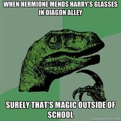 I thought this, too! Along with all the other times they used magic outside of school when underage!