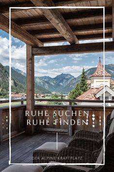 Wellness am Achensee - Ruhe suchen, Ruhe finden Spa, Gazebo, Outdoor Structures, Cabin, House Styles, Home, Recovery, Landscape, Vacation