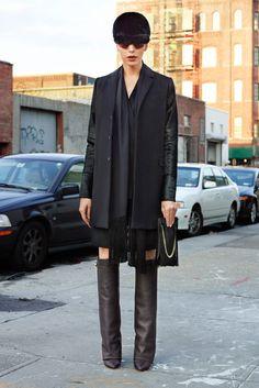 Givenchy Pre-Fall 2012.  Model - Lea T.