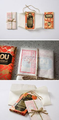Rice Creative & Marou gift #packagingdesign #packaging #graphicdesign #design
