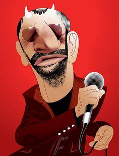 Ringo Starr by André Carrilho, via Flickr