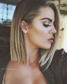 Lob Hairstyle, Long Bob Hairstyles, Hairstyles For Round Faces, Short Haircuts, 2018 Haircuts, Haircut Long, Popular Haircuts, Hairstyle Ideas, Everyday Hairstyles