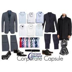 Mens corporate capsule