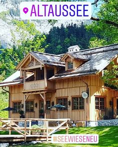 Fast wie damals :-) Cabin, House Styles, Instagram, Home Decor, Remember This, Road Trip Destinations, Homemade Home Decor, Cabins, Cottage