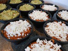 Refritos y Guacamole