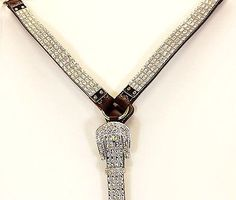Ultimate Bling Breast Collar & Headstall Set