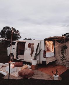 the dreamiest camp site