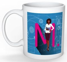Send a Message with Every Sip - Customizable Mugs and Gifts found @ ColorMeSTEM.com
