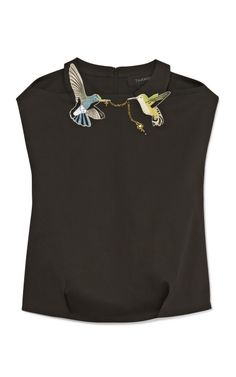Shop Ornithology Collared Top by Thakoon Now Available on Moda Operandi