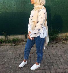 Modern Hijab Fashion, Islamic Fashion, Muslim Fashion, Suit Fashion, Modest Fashion, Fashion Outfits, Hijab Casual, Hijab Style, Hijab Chic
