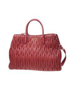 424a5009a9 Miu Miu Tote Bag in Red Matelasse Leather www.pampermeshoes.com.  pampermeshoes · handbags   purses