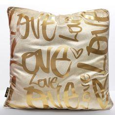 Love Wild Embellished Pillow - Oliver Gal Art