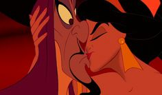 That awful kiss between Jasmine and Jafar. For some reason I felt the need to pin it.