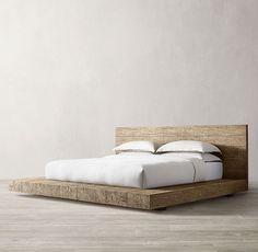Reclaimed Russian Oak Live Edge Platform Bed In 2020 Platform Bed Bed Bedding Sets Online