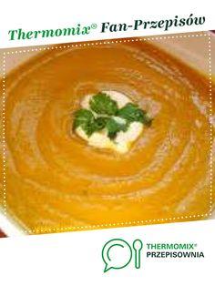 Prosty i szybki krem z dyni jest to przepis stworzony przez użytkownika kowaleczka. Ten przepis na Thermomix<sup>®</sup> znajdziesz w kategorii Zupy na www.przepisownia.pl, społeczności Thermomix<sup>®</sup>. Aga, Thai Red Curry, Food And Drink, Ethnic Recipes, Thermomix