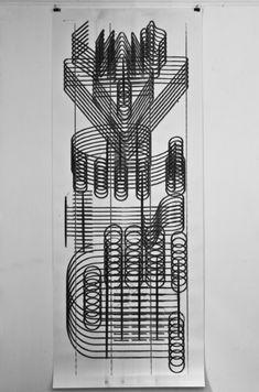Estudio Amorales — coal drawing machine