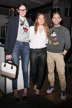 Jenna Lyons, Courtney Crangi, and Philip Crangi at the Jewelmint Studio Series launch in New York.