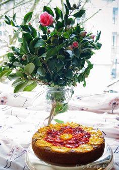 orientalischer Mandel-Orangenkuchen glutenfrei und vegan Superfood, Vegan Sweets, Glutenfree, Camembert Cheese, Vegan Recipes, Low Carb, Cake, Desserts, Vegan Baking