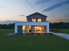 Holzhaus bungalow flachdach  Singlehaus • Holzhaus von Palisadio • Attraktiver Bungalow mit ...
