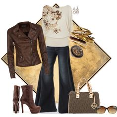 Casual Diva, created by msmith801 on Polyvore