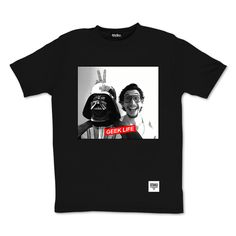 tee-shirt Geek life vador by Otaku Gamewear