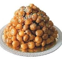 my grandma used to always make these for Christmas! honeyballs!