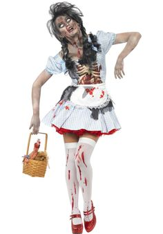 Zombie Dorothy Costume, Zombie Fancy Dress - Halloween Costumes at Escapade™ UK - Escapade Fancy Dress on Twitter: @Escapade_UK