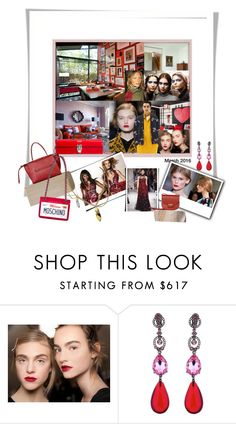 """""""Geen titel #25797"""" by lizmuller ❤ liked on Polyvore featuring Bunn and Oscar de la Renta"""