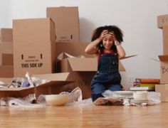 Overwhelmed?  Professional Organizers can help! I specialize in helping people with their moves.