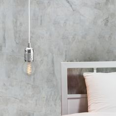 Závěsný kabel Uno, stříbrná/bílá/stříbrná | Bonami