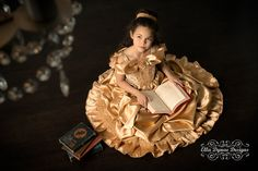 Belle Princess Gown Costume by EllaDynae on Etsy