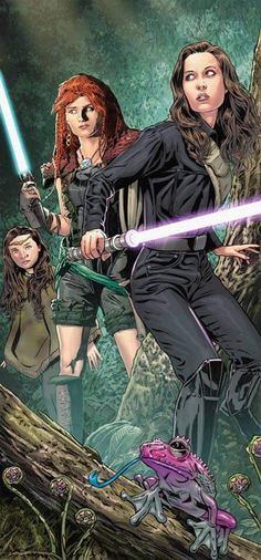 Women from the Jedi