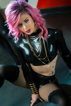 Photography: Tolga Katas with assisance from Phil Edelstein/Photographer - Sin City Imagery Model: Annalee Belle Makeup: Instagram- @keelyzelanka Hair: Hair and Makeup By Candice Marie Latex: Vital Vein Fashion Styling: Angela Ryan Styles For Sinical Magazine