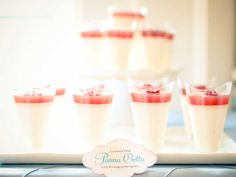 coconut panna cotta from Luscious Layers Bakery, photo taken by Amanda Hein Photography