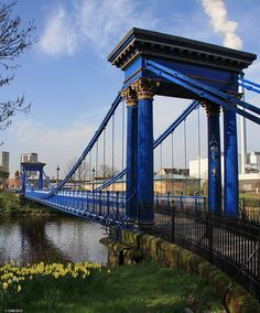 St Andrews suspension Bridge, Glasgow