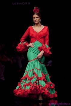 Traje de Flamenca - Pilar-Vera - Simof-2011